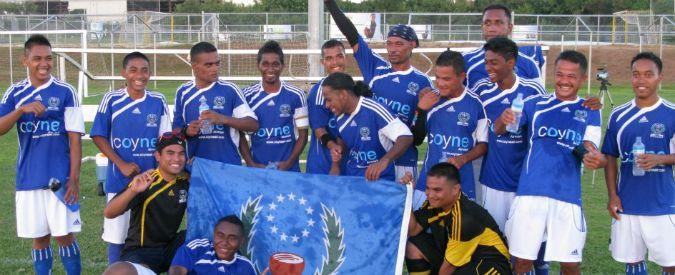 """Micronesia, dopo i 114 gol subiti l'appello a Blatter: """"La Fifa riconosca la nazionale"""""""