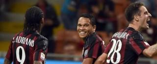Milan – Palermo, finisce 3 a 2: la doppietta di Bacca e Bonaventura portano i rossoneri a sei punti