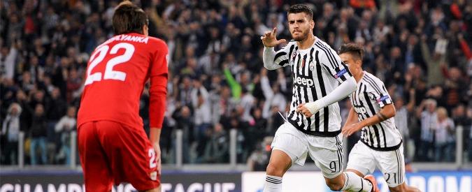 Juventus – Siviglia 2-0: i bianconeri vedono l'Europa e si trasformano. Morata e Zaza blindano Massimiliano Allegri
