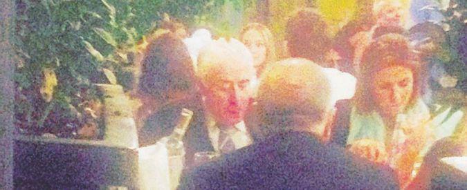 Alessandra Moretti e il gemello di Dell'Utri fotografati a cena insieme. E nessuno rivela gli altri invitati