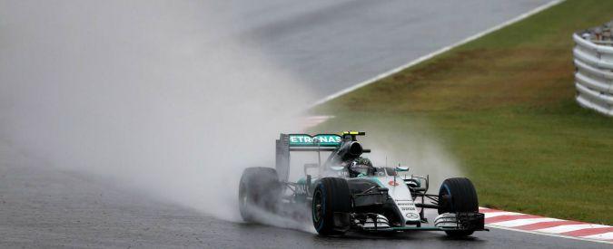 F1, Gp del Giappone: pole position per Nico Rosberg. Quarta la Ferrari di Vettel