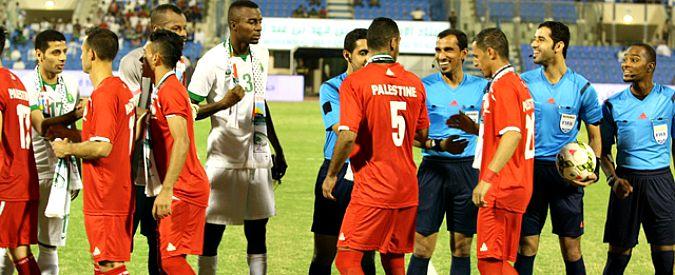 Calcio, la storica partita della Palestina: giocherà per la prima volta in casa