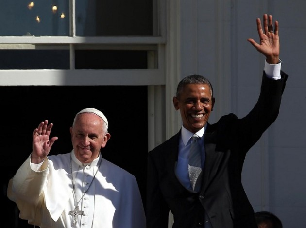 Papa Francesco Incontra Obama alla Casa Bianca