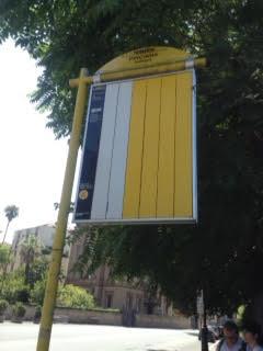 parcheggio autobus