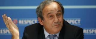 """Blatter indagato, Platini: """"2 milioni di franchi? Io pagato per un lavoro"""""""