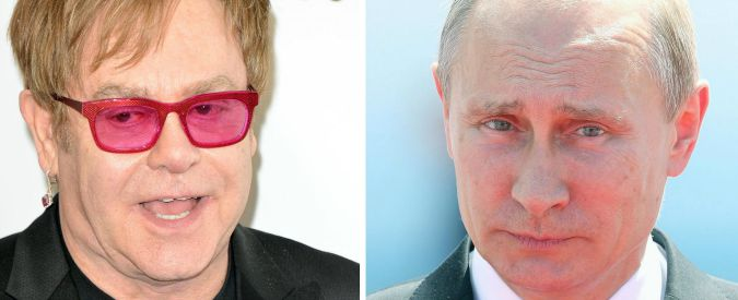 "Vladimir Putin chiama Elton John: ""Pronto ad incontrarti"". Parleranno di diritti gay"