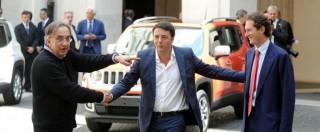 Renzi e Marchionne, l'amore ai tempi del potere: l'idillio filogovernativo è durato quanto il consenso dell'ex premier