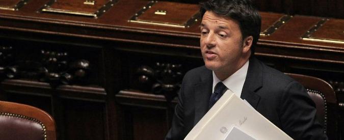 """Palazzo Chigi, Renzi nega gli sprechi denunciati dal M5S: """"Tutto falso"""""""