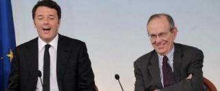 """Conti pubblici, Renzi: """"L'Italia ha svoltato, ora accelerare"""". Nel Def chiesti 13 miliardi di flessibilità"""