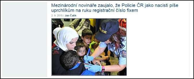 Migranti, marcia indietro della Repubblica Ceca: niente più numeri sulle braccia