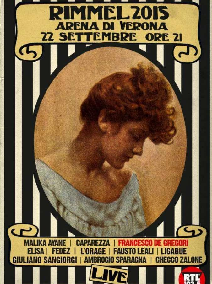 """Rimmel 2015, parla L'Orage: """"Noi, chiamati da Francesco De Gregori sul palco dell'Arena di Verona"""""""