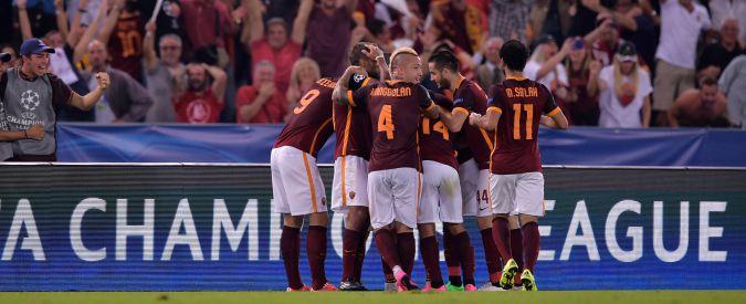 Roma-Barcellona 1-1: i giallorossi vanno sotto, poi un gol di Florenzi da centrocampo blocca i campioni d'Europa