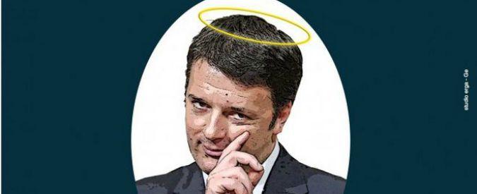 """Debiti Pa, compra pagina di giornale contro Renzi: """"Pagamenti ancora fermi"""""""