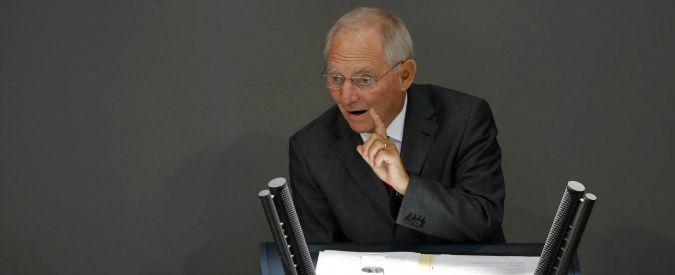 """Fondi Ue, Schaeuble: """"Più serietà, non lasciare le regole agli stupidi tedeschi"""""""