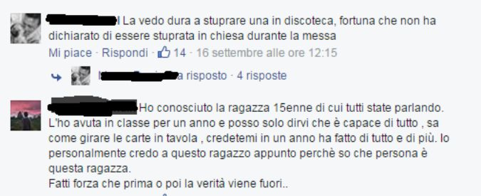 """Treviso, denuncia di aver subito una violenza sessuale: 15enne insultata su Facebook. """"Spero ti stuprino veramente"""""""