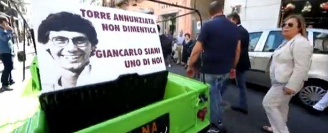 Da Giancarlo Siani fino a Giulio Regeni, memoria e futuro