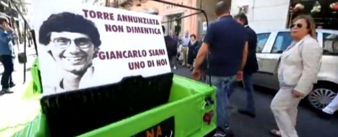 Camorra, a 30 anni dall'omicidio la Mehari di Giancarlo Siani torna a Torre Annunziata