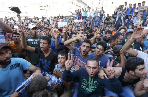 Migranti, chiusa la stazione di Budapest