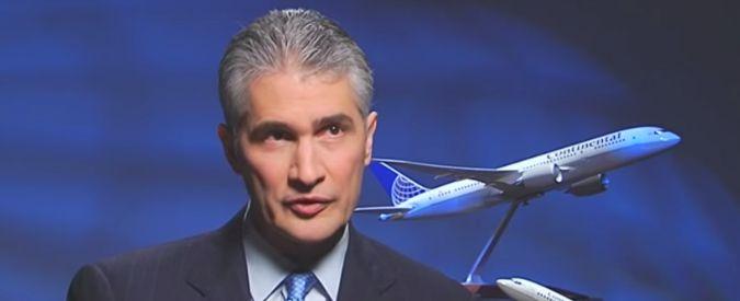 """Lascia numero uno della United: """"Organizzò volo per accontentare capo autorità aeroporti"""""""