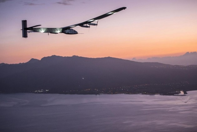 Solar Impulse2 flight
