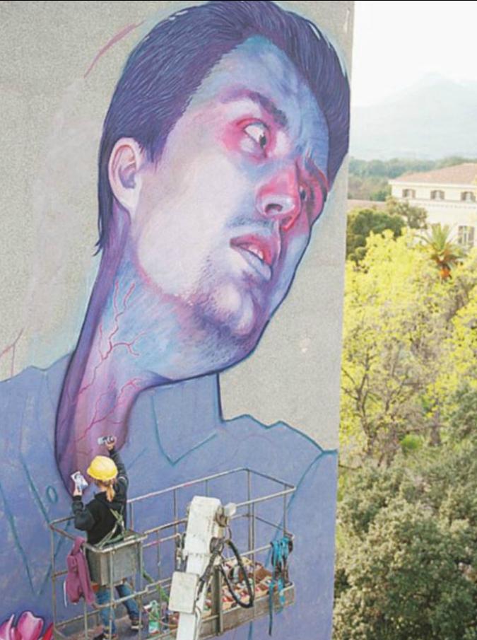 """Un """"muro"""" per riqualificare la città. Quando la street art diventa una serie tv"""