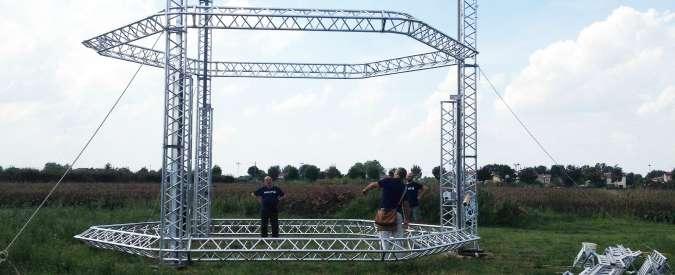 BigDelta, a Ravenna la stampante 3d per costruire case in argilla e a basso costo. E' la più grande al mondo