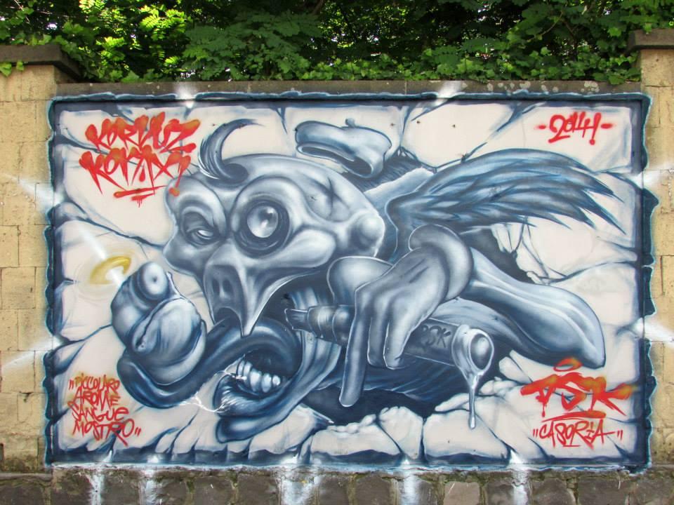 http://wonderwallproject.tumblr.com/ Foto di Domenico Barra