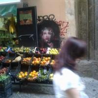 Francisco Bosoletti – via Giovanni Paladino, Napoli. Foto di Giuseppina Ottieri