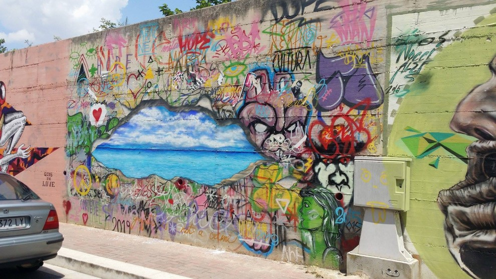 "Francesco Cortese per ""STREET ART MATERA"" – 2015"