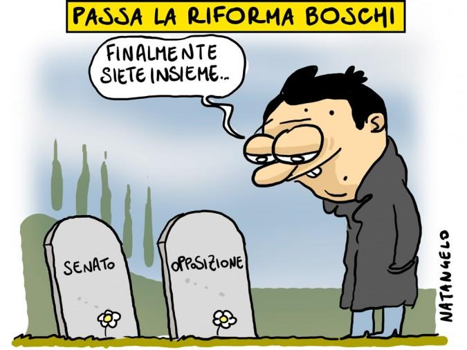 Passa la riforma Boschi