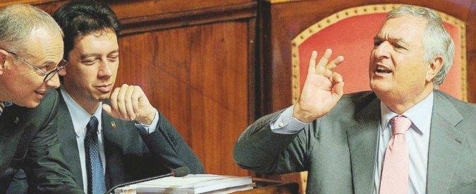 """Vincenzo D'Anna, (Ala): """"Non possiamo fare gli schiavi a vita, Renzi ci dia dignità"""""""