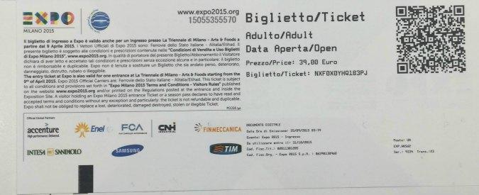"""Expo verso la fine, Alitalia regala biglietti: """"Due a testa a chi parte da Roma o arriva a Milano"""""""