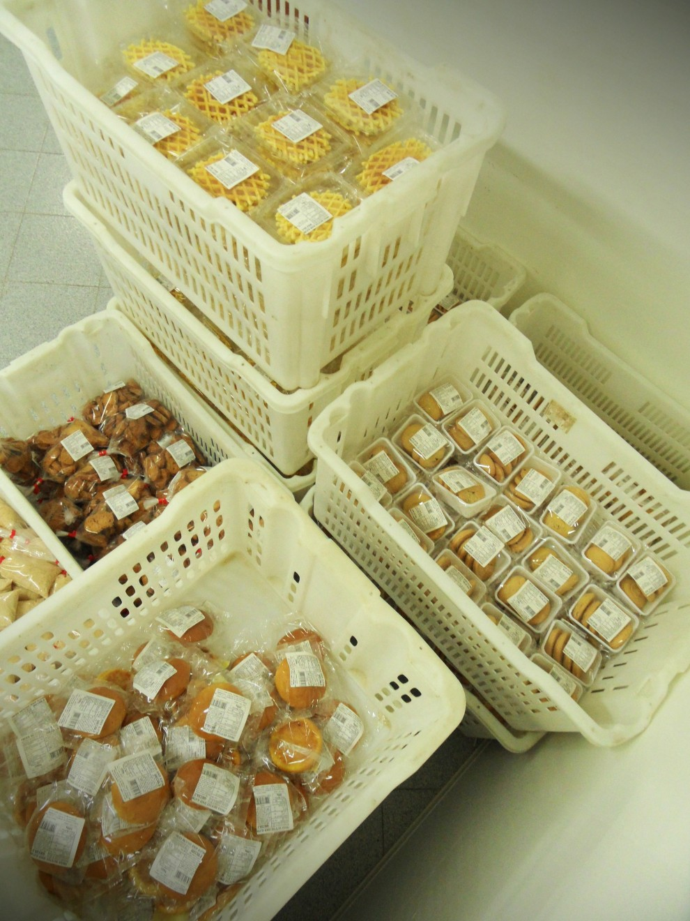 I prodotti sono pronti a essere distribuiti