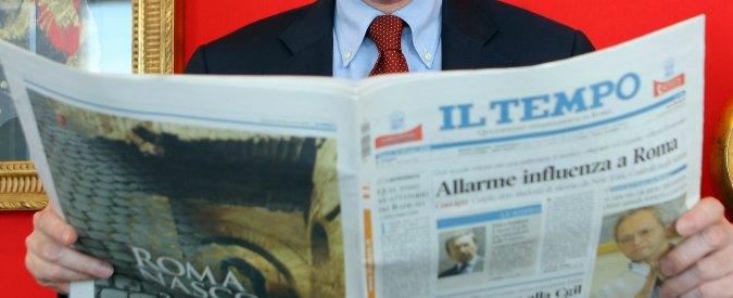 Editoria, Angelucci in corsa contro l'ex direttore generale Consob per rilevare Il Tempo