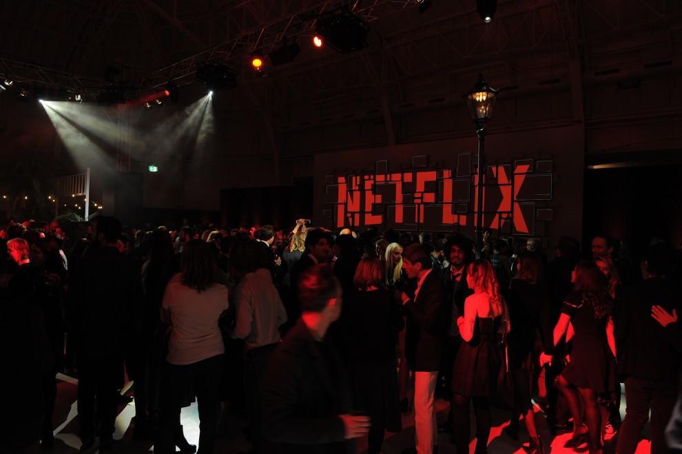 Netflix Italy Party