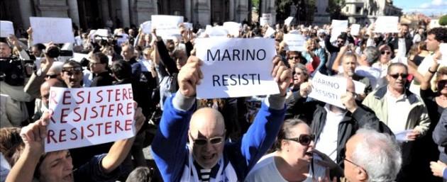 Marino sostenitori Campidoglio 2 675