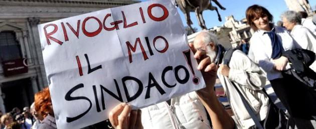Marino sostenitori Campidoglio 675