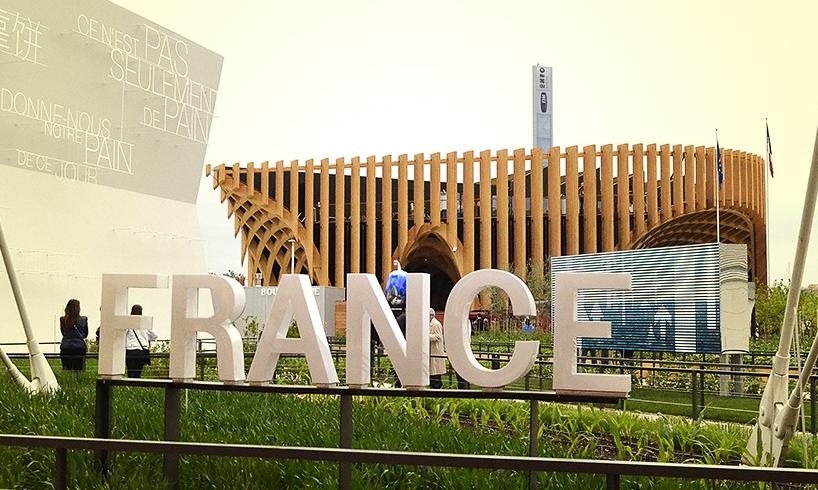 Per i padiglioni più grandi, la medaglia d'oro è stata assegnata alla Francia, per il suo concetto innovativo di padiglione e food market