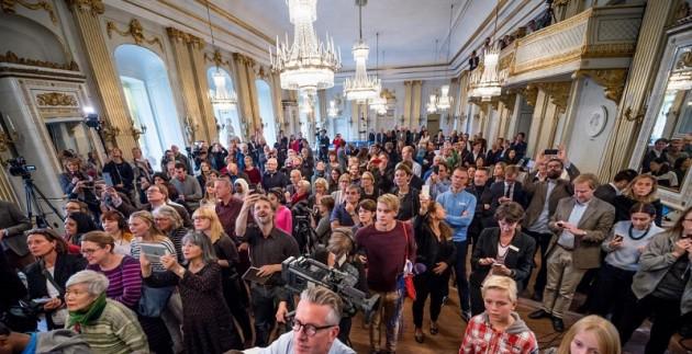 Sara Danius proclama Svetlana Alexievitch vincitrice del Premio Nobel per la Letteratura 2015