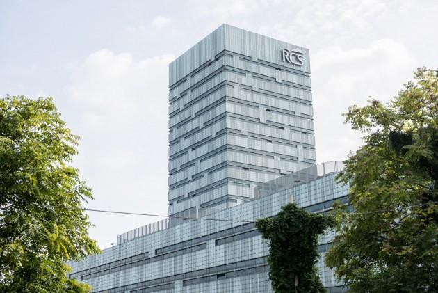 Esterni della sede RCS di Via Rizzoli a Milano