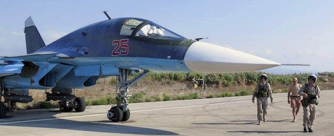"""Siria, ong: """"45 morti e 75 feriti nei raid russi a Latakia"""". Media: """"Nato prepara exit strategy per Assad"""""""