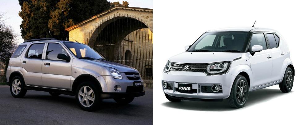Suzuki Ignis 2003 2015