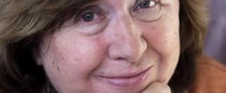 Premio Nobel letteratura 2015 a Svetlana Aleksievich: vince la scrittrice-giornalista bielorussa