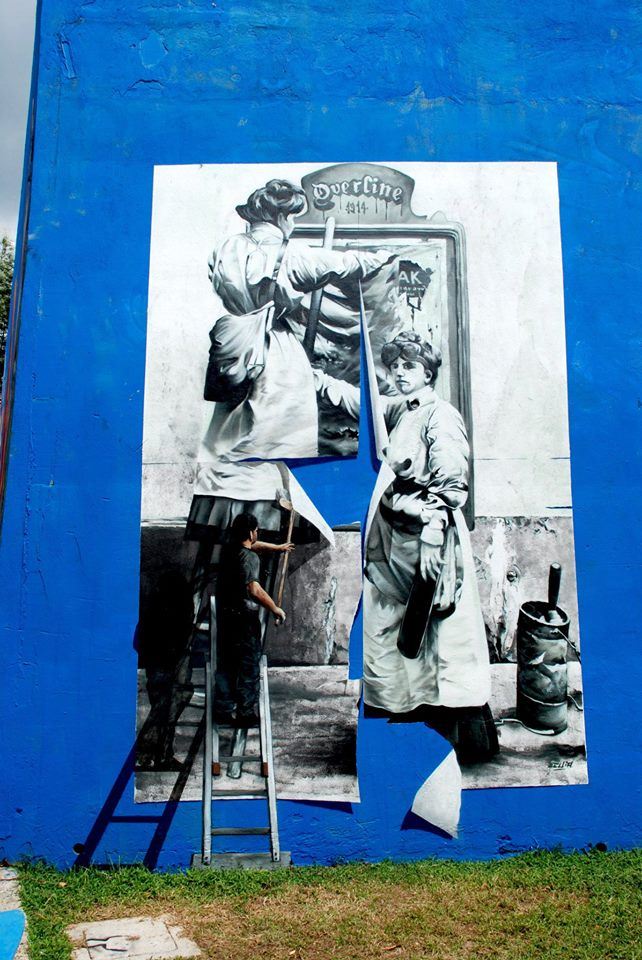 Overline Jam, evento che si svolge ogni anno a Baronissi (SA), legato all'hip hop e alla cultura urbana, divenuto rassegna internazionale di graffiti.