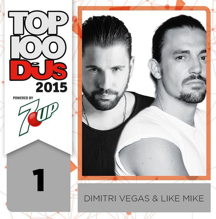 1. Dimitri Vegas & Like Mike