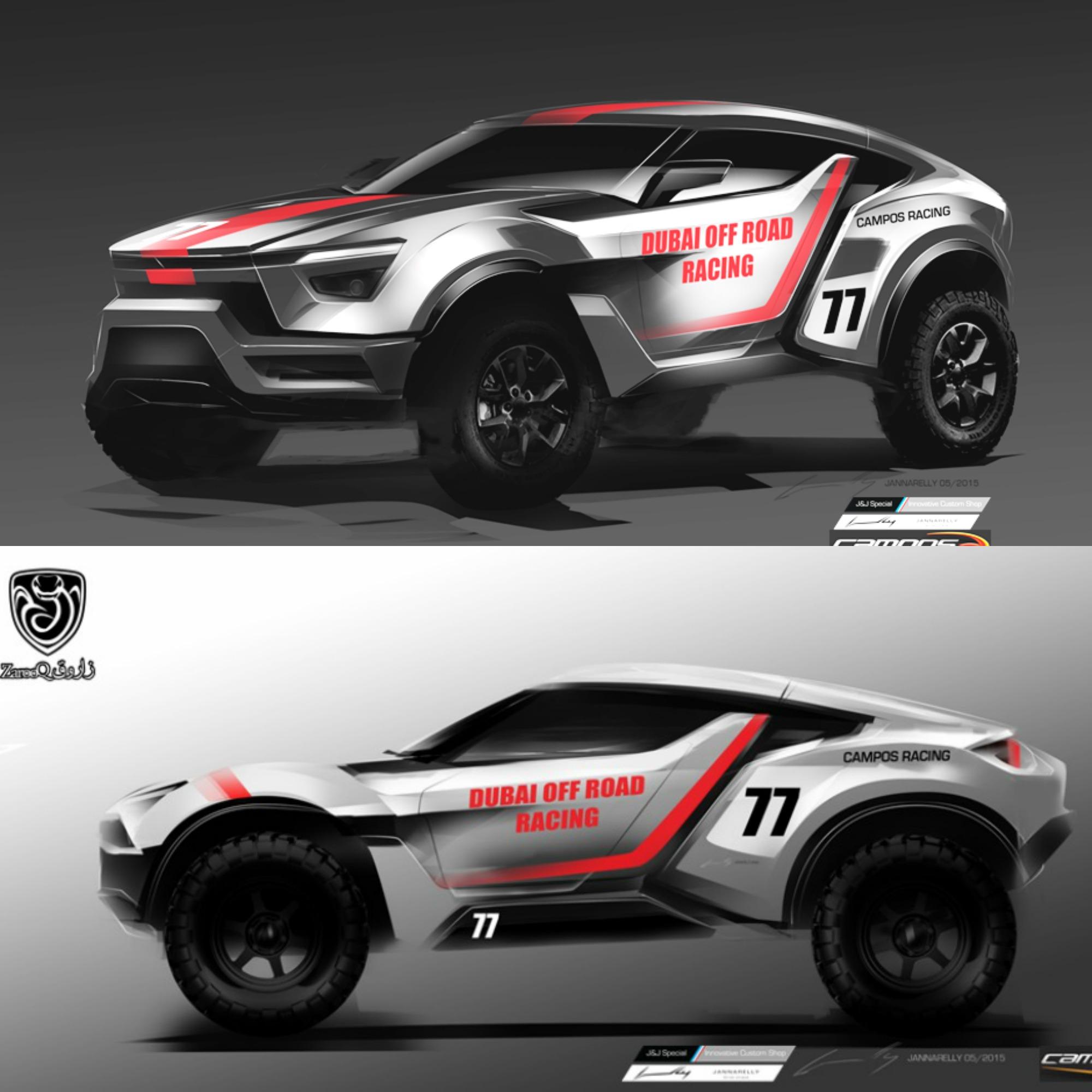 Zarooq Motors, la prima auto 'da deserto' costruita negli Emirati Arabi Uniti