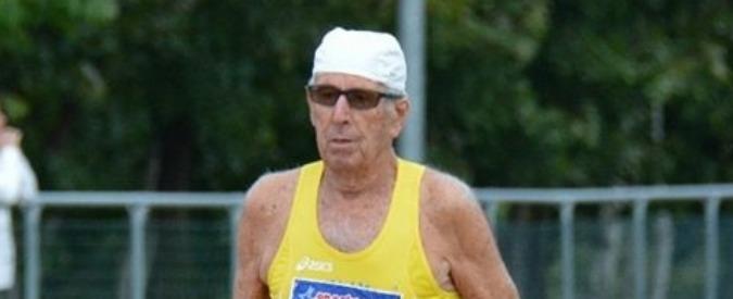 Atletica, il record del mondo italiano? E' dell'85enne Acquarone: primati di categoria su 5000 e 10000