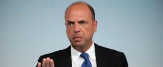 """Unioni civili, Alfano: """"Libertà di coscienza data da Grillo? Bene, si riapre la partita: la legge può saltare"""""""