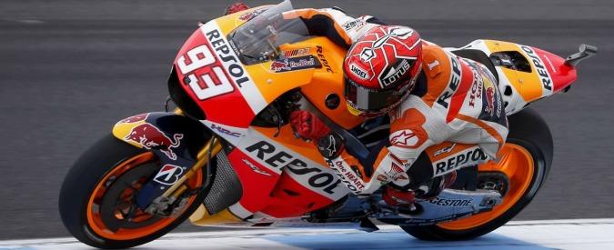 MotoGp Australia, a Phillip Island vince Marquez davanti a Lorenzo. Rossi quarto