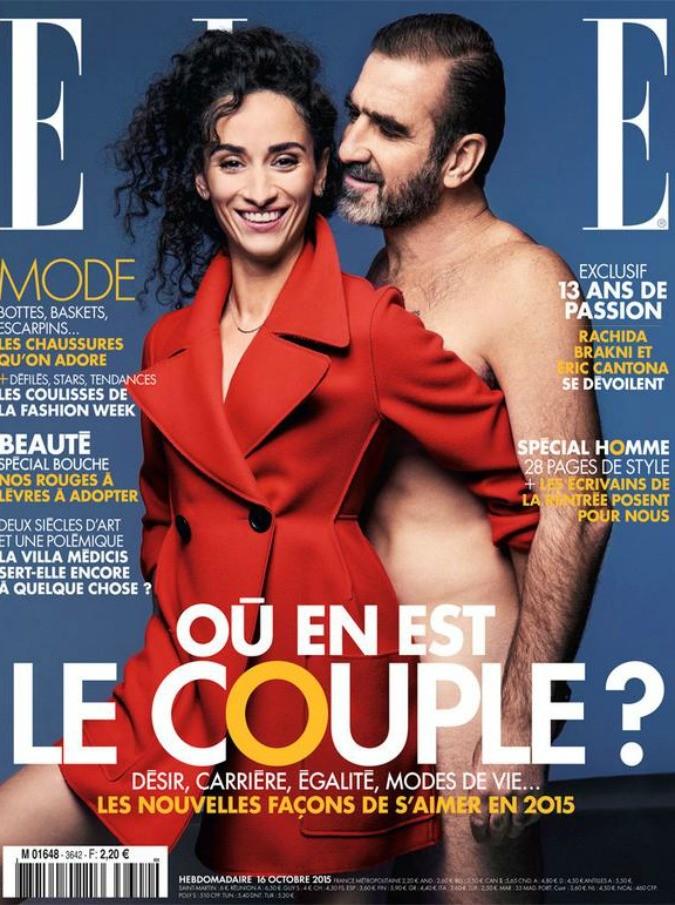 Eric Cantona nudo su Elle, l'ultimo colpo a sorpresa di un'icona del calcio moderno
